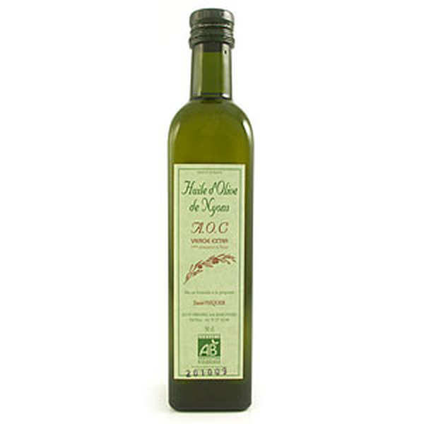 Organic olive oil from Nyons AOC