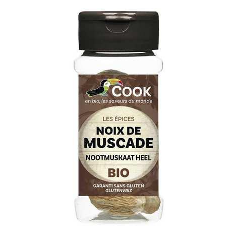 Cook - Herbier de France - Noix de muscade entières bio