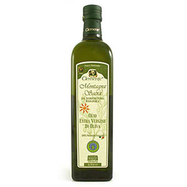 Huile d'olive italienne Clemente Montagna Sacra bio