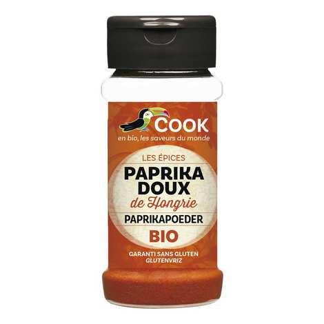 Cook - Herbier de France - Paprika doux de Hongrie bio