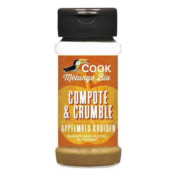 Mélange d'épices pour compote et crumble bio