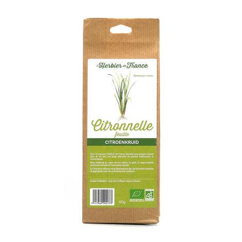 Cook - Herbier de France - Infusion de citronnelle en feuilles bio