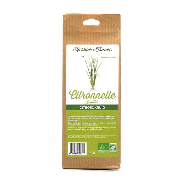 Organic Lemongrass Leaf Herbal Tea