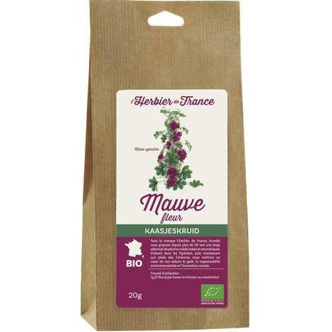 Cook - Herbier de France - Infusion de fleurs de mauve bio