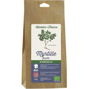 Cook - Herbier de France - Infusion de myrtille en feuilles bio