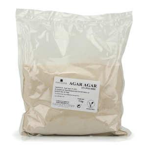 Porto Muinos - Agar agar en poudre en sac de 1kg