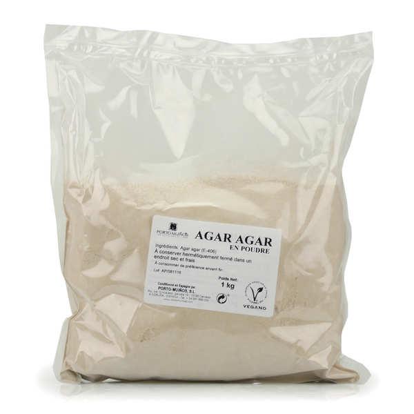 Agar agar en poudre en sac de 1kg