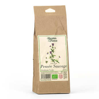 Cook - Herbier de France - Organic Wild Pansy Herbal Tea