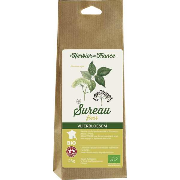 Organic Elderberry Flowers Herbal Tea