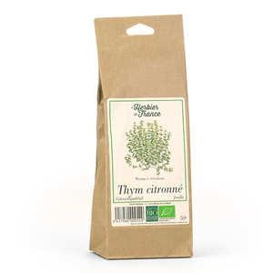 Cook - Herbier de France - Infusion de thym citronné en feuilles bio