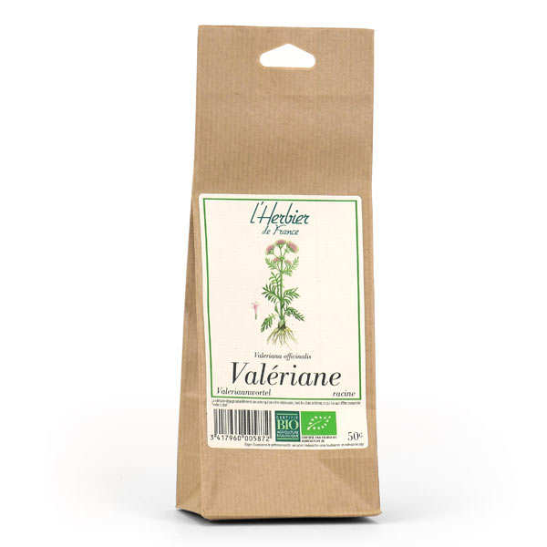 Organic Valerian Root Herbal Tea