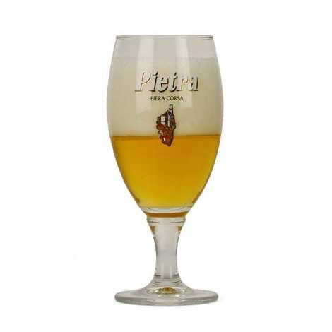 Brasserie Pietra - Verre à bière Pietra 25cl