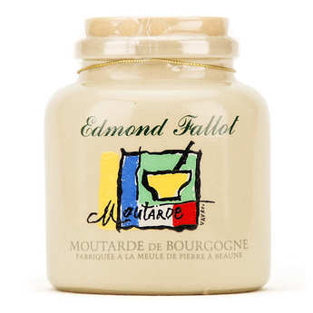 Fallot - Burgundy mustard in an earthenware jar decorated by Alain Vavro