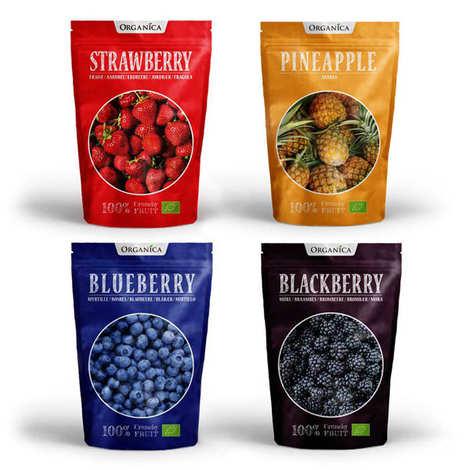 Organica - Offre découverte crunchy fruit bio
