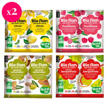Organic fruit flan mix discovery offer