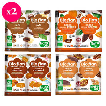 Nat-Ali - Organic flan mix discovery offer