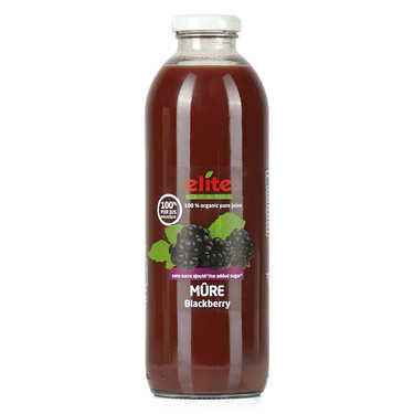 Pure organic blackerry juice