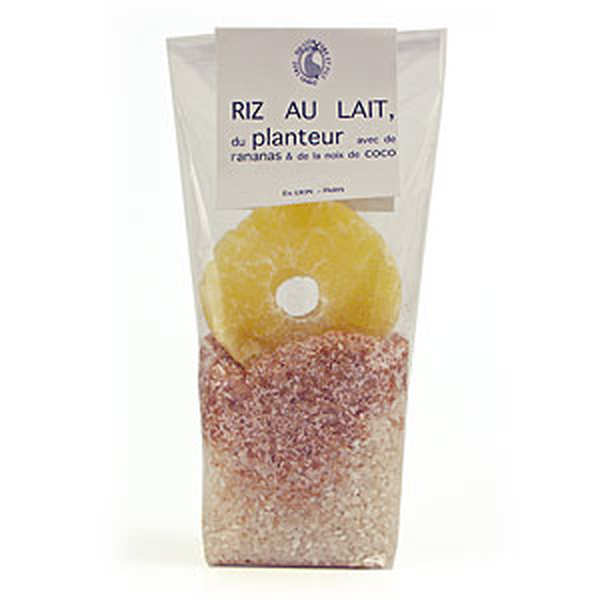 Riz au lait du planteur ananas noix de coco lion p re et fils - Riz au lait de coco ...