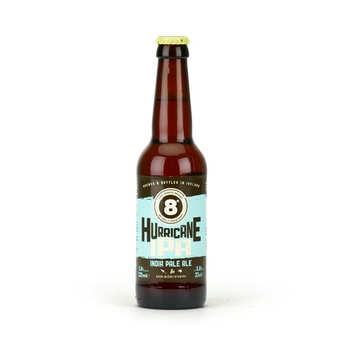 Eight Degrees Brewing - Beer 8° Hurricane IPA 5.8% - American Amber Ale from Ireland