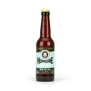 Bière 8° Hurricane IPA 5.8% - India Pale Ale d'Irlande