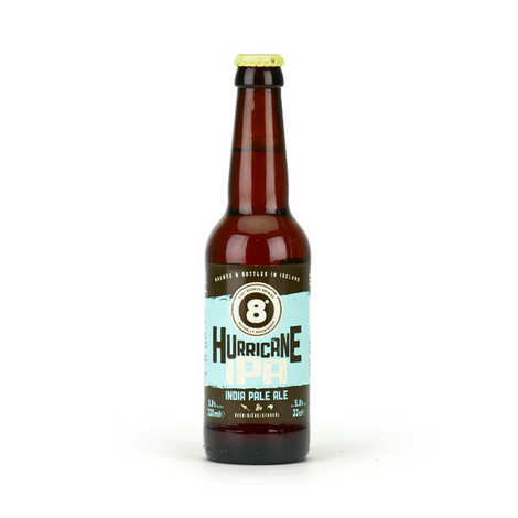Eight Degrees Brewing - Bière 8° Hurricane IPA 5.8% - India Pale Ale d'Irlande