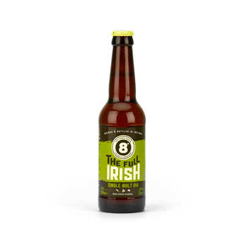 Eight Degrees Brewing - 8° The Full Irish Single Malt IPA 6% - Bière craft IPA d'Irlande