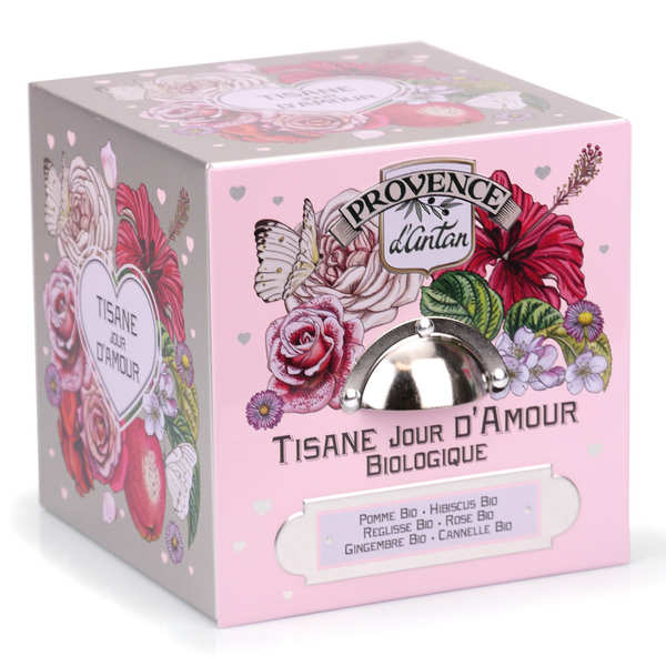 Organic Day Of Love Herbal Tea From Provence