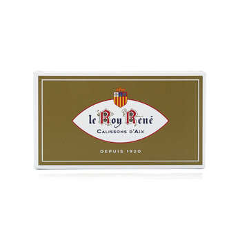 Le Roy René - French Calissons d'Aix - Decorated Case Almonds