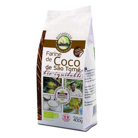 Biosagesse - Farine de coco bio-équitable