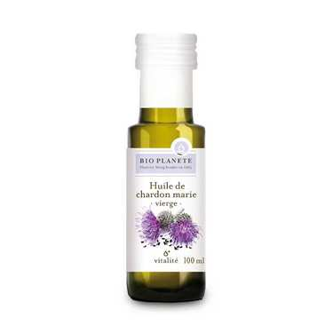 Organic Virgin Milk Thistle Oil
