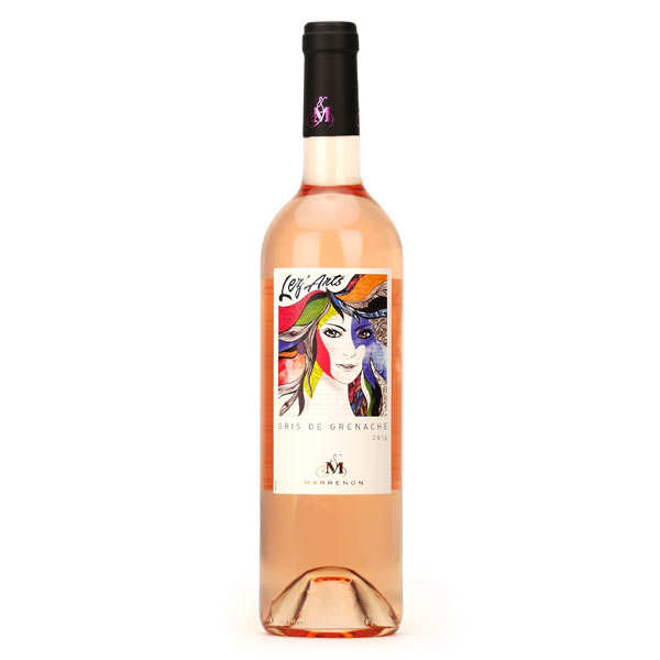 Lez'Arts Rosé Wine From Mediterranean