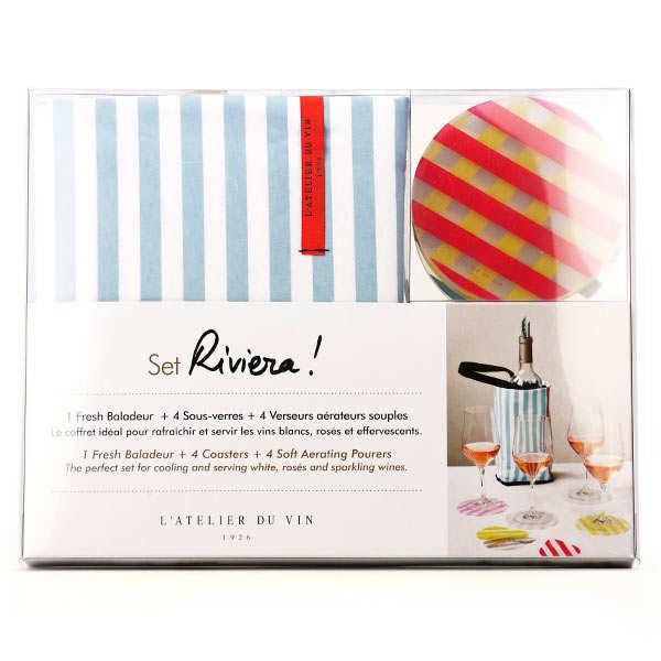 Set dégustation 'Riviera' Atelier du vin