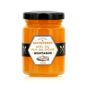 Honey From French Mountains Of Puy-De-Dôme