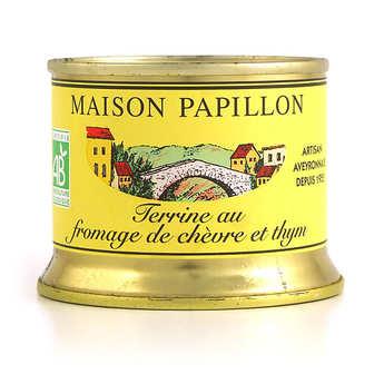 Maison Papillon - Terrine au fromage de chèvre et thym bio