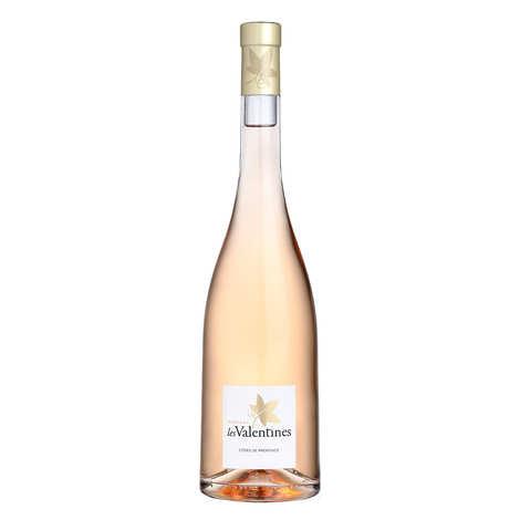 Château Les Valentines - Château Les Valentines - AOC Côtes de Provence vin rosé bio