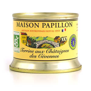 Maison Papillon - Organic Chestnut Terrine from the Cévennes