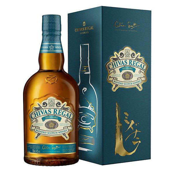 Whisky Chivas Regal Mizunara 40%