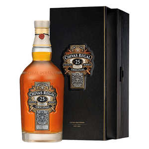Distillerie Chivas - Whisky Chivas Regal 25 ans d'âge 40%