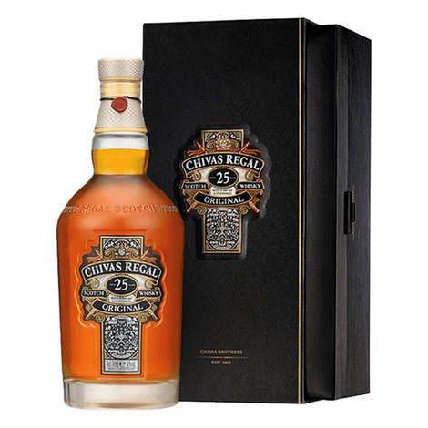 Distillerie Chivas - Whisky Chivas Regal 25 ans d'âge 40%