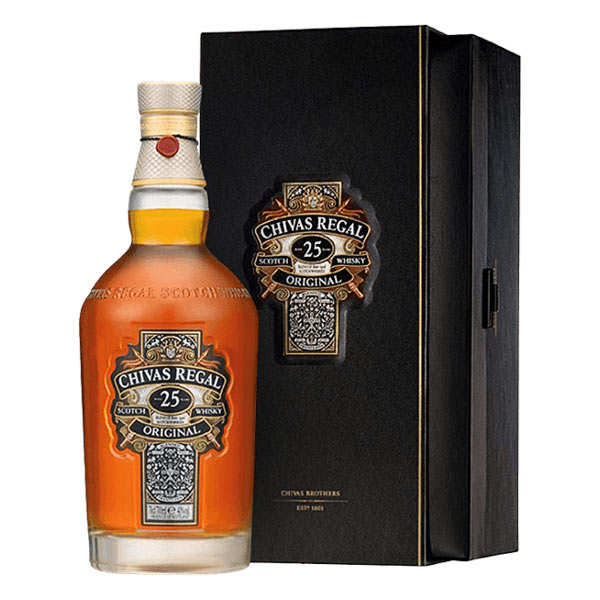 Whisky Chivas Regal 25 ans d'âge 40%