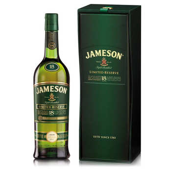 Jameson Irish Whiskey - Whisky Jameson 18 ans d'âge - Limited Reserve 40%