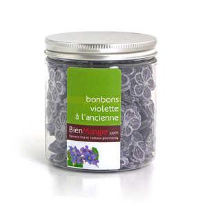 France Bonbons Caramels - Bonbons violette à l'ancienne