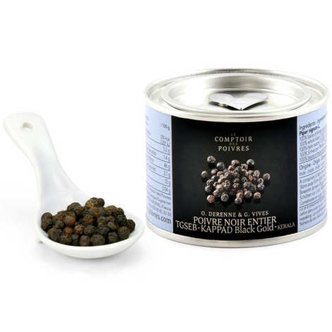 Le Comptoir des Poivres - Black Pepper Kappad Black Gold