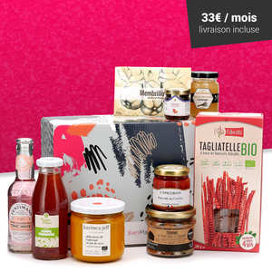 BienManger paniers garnis - Gourmet surprise box - 3 month subscription