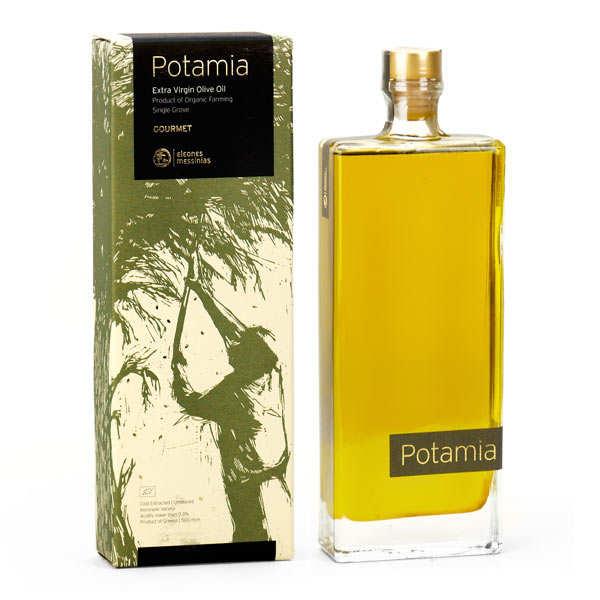 Huile d'olive gourmet Potamia de Grèce bio