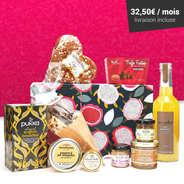 BienManger paniers garnis - Box découvertes gastronomiques abonnement 6 mois