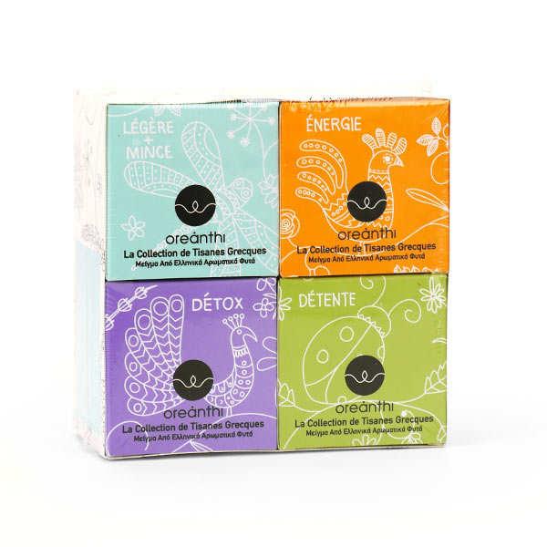 Organic Greek Herbal Tea Case