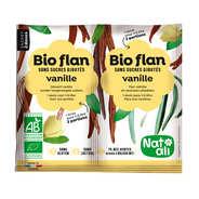 Bio Flan parfum vanille sans sucres ajoutés