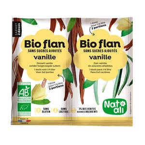 Nat-Ali - Bio flan non sucré parfum vanille
