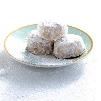 Petits Grecs - Kourabiedes grecs pistaches et anis